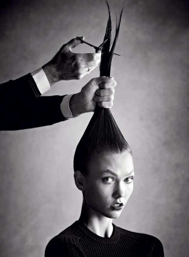 Photos-Karlie-Kloss-Chops-Cut-Off-Hair-Vogue-US-January-2013-Issue