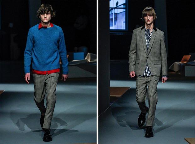 Prada Menswear AW13 - 01