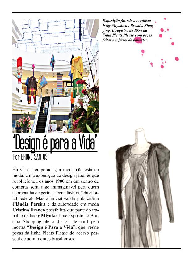 001  - 0011 - Legado Issey Miyake é homenageado no Brasília Shopping